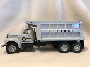 First Gear 19-1956 1960 B-61 Mack Conrock Dump Truck 1/34