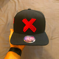 Nike Air Jordan Retro 1 Banned X OG Black Bred Snapback Hat Cap 100% Authentic
