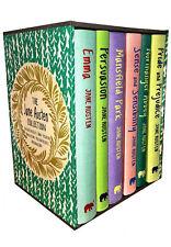 The Jane Austen Collection 6 Books Box Set, Sense and Sensibility, Emma, Persuas