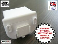 OFFICIAL Nintendo Wii Motion Plus Sensor Adapter RVL-026 WHITE For Controller