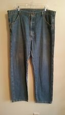 RUSTLER CLASSIC Mens Jeans denim Straight Leg Regular Fit Size 40 X 32
