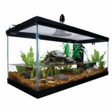 Aquatic Habitat Set Up Enclosure Water Tank Starter Kit Reptile Turtle Frog 10ga