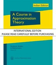 COURSE IN APPROXIMATION THEORY, A by CHENEY
