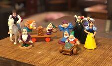COMPLETE SET Disney Snow White Seven Dwarfs Happy Meal Toys 1992 McDonalds 10 Pc