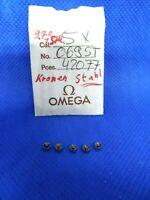 Vintage OMEGA ORIGINAL 069ST42077 Couronne Krone Crown Gold Silber NOS NEW NEU