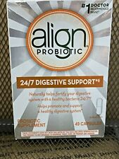 NEW Align Probiotic Digestive Care Supplement 49 Capsules APRIL 2020