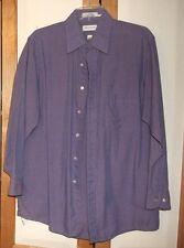 VAN HEUSEN LIGHT PURPLE END ON END  LONG SLEEVE DRESS SHIRT 15 1/2 32/33
