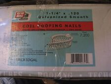 "1-1/4""x.120 COIL NAILS 7200PCS (AA8560-7200)"
