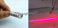 1pcs Red Line Laser Module Focus Adjustable Laser Head 5V 5mW 650nm the word