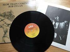 Bob Dylan - Slow Train Coming Vinyl LP UK 1st Press A1/B1 VG / EX