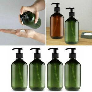 300/500ml Leere Pumpflaschen Lotion Pumpe Flaschen Shampoo Seifenspender Refill