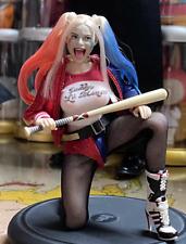"1/12 Harley Quinn Head Sculpt+Character Clothing Set+6"" T01 Suntan Figure Body"
