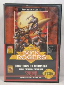 Buck Rogers Countdown to Doomsday Case (SEGA Genesis) Authentic BOX ONLY