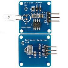 NE555 Infrarouge Émetteur + IR Récepteur Module Avec 38K Porteur Pour Arduino HG