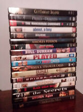 Dvd lot (18 misc used) Amores Perros Borat Played Cinderella Man Spider Man 3