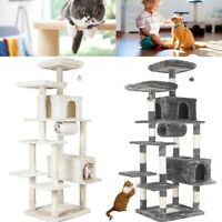"""80"""" Cat Tree Condo Furniture Scratching Post Tower Kitty Pet House for Large Cat"""