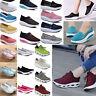 New Women Lace UP Shape Ups Toning Fitness Walking Sport Sneakers Platform Shoes