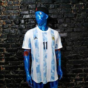 Di Maria Argentina Jersey Home football shirt 2021 Player Issue Adidas Mens XL
