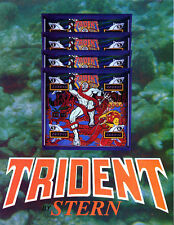 Trident stern Pinball chip rom set