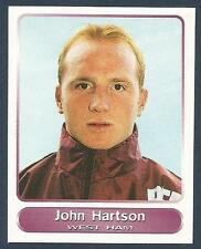 PANINI SUPERPLAYERS 1998 #133-WEST HAM & WALES-ARSENAL-LUTON-JOHN HARTSON
