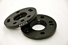 25MM VOLKSWAGEN 5X100-5X112 CB 57.1 HUB CENTRIC SPACERS BLACK ANODIZED