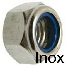 ECROU FREIN NYLSTOP - INOX A2 - indesserrable M6 (25)