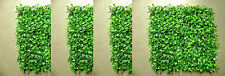 48 ARTIFICIAL IN OUTDOOR UV BOXWOOD MAT HEDGE WALL PATIO DECK GATE FENCE POOL