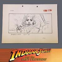 INDIANA JONES & THE LAST CRUSADE, Production Used Storyboard, Bearded Lady