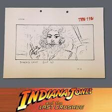 Indiana Jones & The Last Crusade, Production Used Storyboard, Bearded Lady