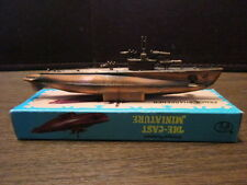 Vintage MINIATURE Die-Cast Pencil Sharpener - Military - Submarine - IOB