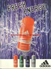"Adidas ""Fresh Energy"" Deodorant 1996 Magazine Advert #356"
