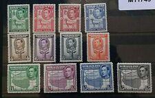 SOMALILAND 1938 0.5a to R5 SG 93 - 104 Sc 84 - 95 set 12 MLH