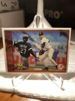 1996 Topps Derek Jeter All Star Rookie Baseball Card #13 Yankees PWE Tracked