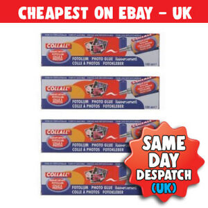 Collall Photo Glue 100ml x 4 FREE Same Day Dispatched 1st Class