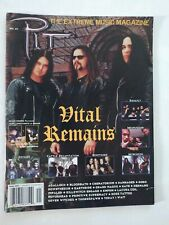 PIT The extreme music Magazine # 41 Winter 2002 Vital Remains