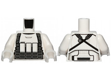 LEGO STAR WARS Armor Stormtrooper Torso with Black Ammunition and Utility Belts