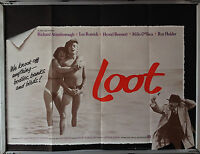 Cinema Poster: LOOT 1970 (Quad) Lee Remick Richard Attenborough Hywel Bennett