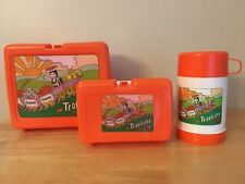 Collectible Tropicana Plastic Lunch Box With Thermos & Sandwich Holder