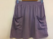 Aritzia TALULA Women's XS Purple Skirt Front Pocket Stretch Waist Extra Small