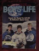 BOYS LIFE Scouts February 1986 UNITED STATES SPACE CAMP Alabama K K KARANJA