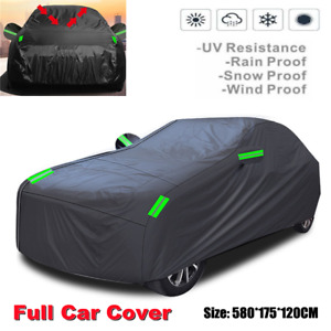 Full Car Cover Waterproof Dust-proof UV Resistant Outdoor Auto Protection Cover