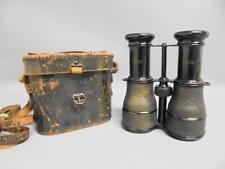 Rare IRIS Paris Binoculars for E. Lennie McCall Edinburgh c1910