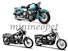 MAISTO 35024B SONS OF ANARCHY HARLEY DAVIDSON MOTORCYCLE 1/18 TIG CHIBS JT SET