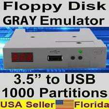 Gray USB to Floppy Grey Disk Emulator Yamaha Roland Korg Tyros-1 Kawai Organs