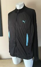PUMA Black Tracksuit Top Jacket Size XLarge - XL