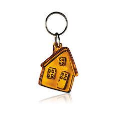 Gadget portachiavi forma CASA ARANCIONE agenzia immobiliare edilizia muratore