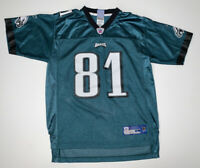 Reebok Philadelphia Eagles Terrell Owens #81 Green NFL Football Jersey Youth L