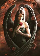 Puzzle Angel Rose - Anne Stokes, 1000 Teile, Fantasy, Mädchen, Engel, Bluebird