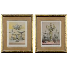 J.B. Waring - Antique Prints, Silvermith's Work and Group of Silver Vases