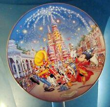 A BIRTHDAY CELEBRATION Walt DISNEY World 25th Anniversary BRADFORD PLATE